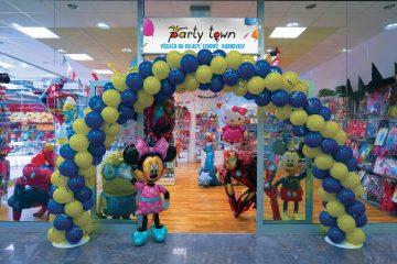 PARTY TOWN_predajna v ZOC MAX Zilina