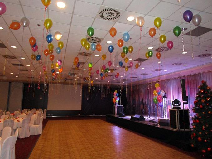 Zábava pod stropom z balónov sa teší veľkej obľube