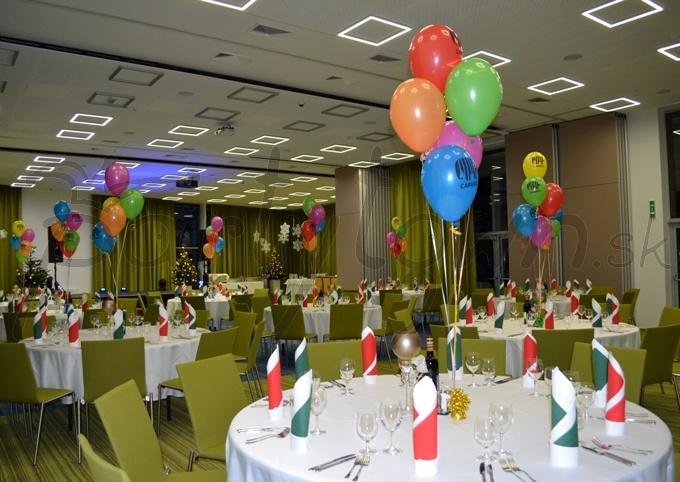 Balóny s potlačou sú na firemných večierkoch vždy vítanými spoločníkmi