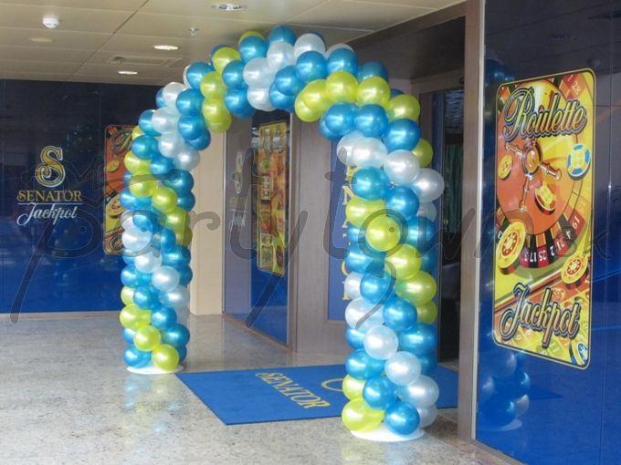Dajte o podujatí verejnosti vedieť balónmi