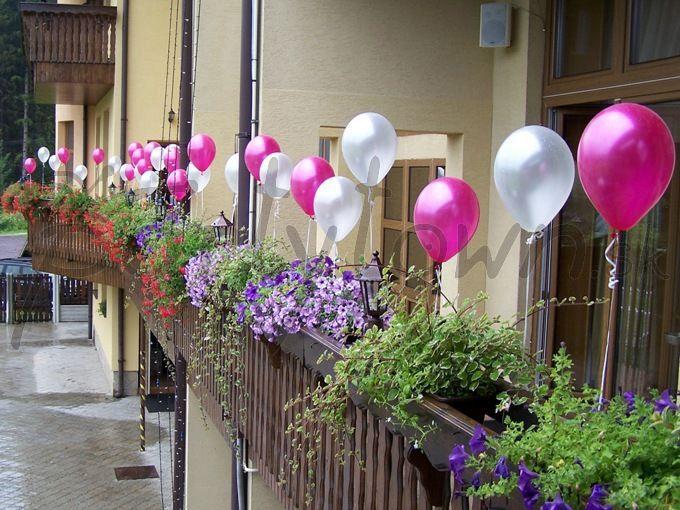 Využitie balónov takmer nepozná hranice