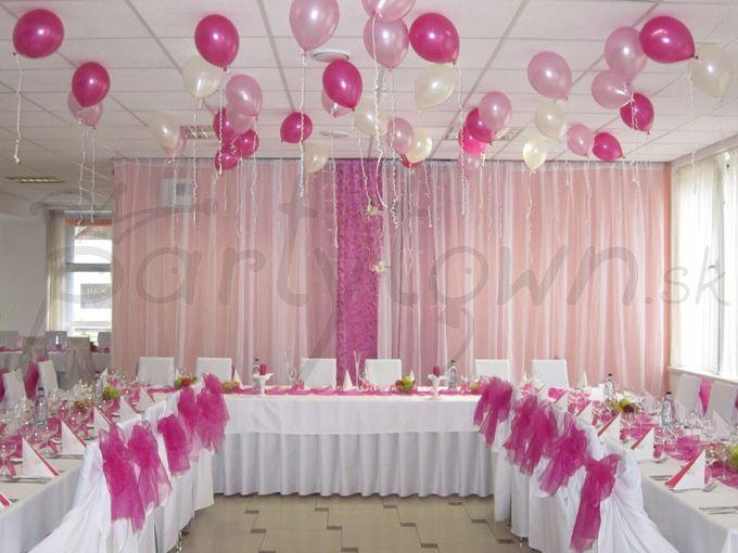 Ružové tóny oslavy začiatku spoločného života