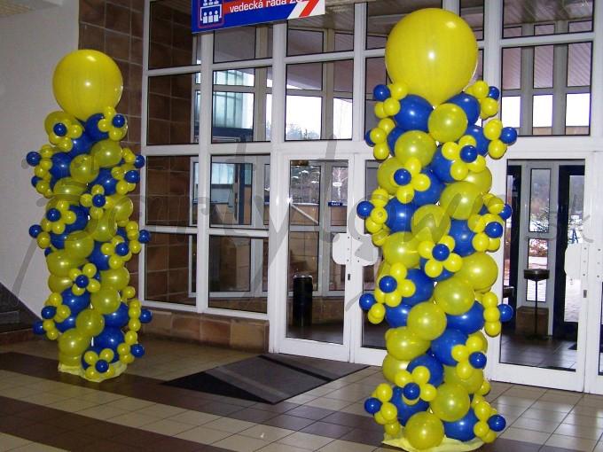 Keď balónová výzdoba zakvitne