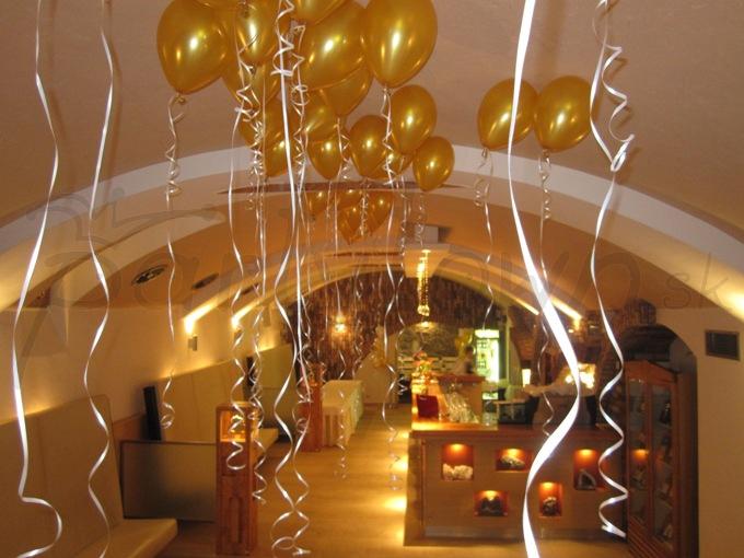 Balóny spravia akúkoľvek udalosť výnimočnou