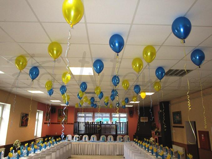 Modro-žltá oslava životného jubilea
