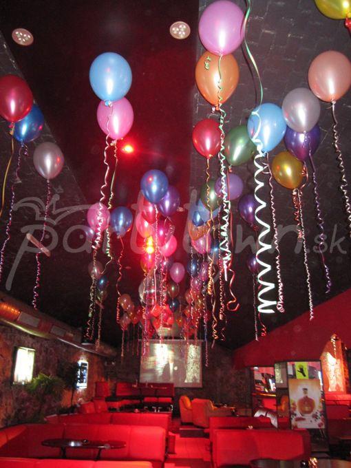 Akákoľvek oslava je s balónmi tou pravou párty