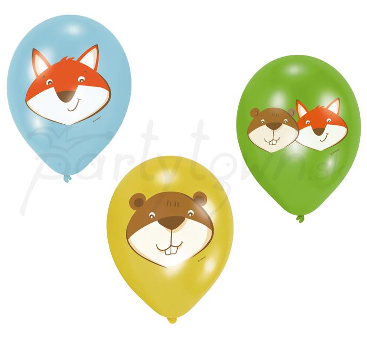 "Balóny ""Líška a bobor – Fox   Beaver"" 27 25025ca153b"